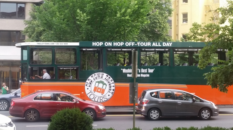THE OLD TOWN TROLLY